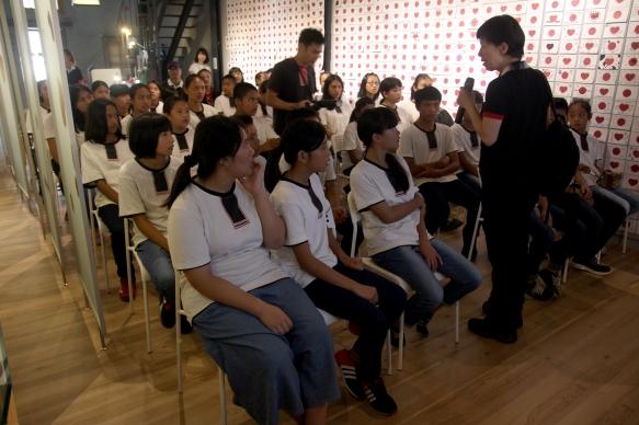 原聲童聲合唱團帶隊老師 阿貫老師前言介紹