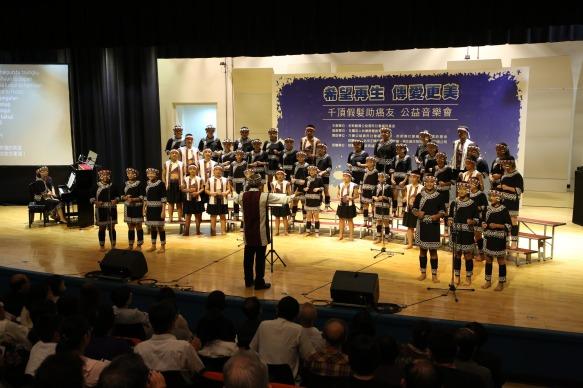 原聲童聲合唱團為癌症希望基金會獻唱
