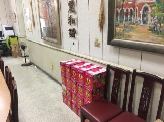 臺南女中義賣文旦