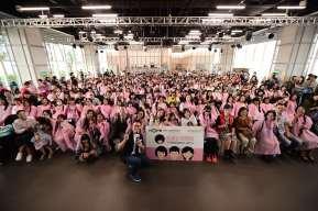 第三屆 百人捐髮活動 百人合照